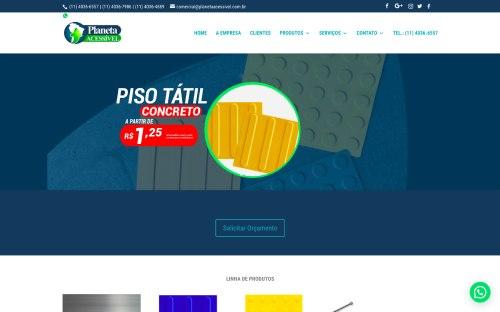Portifólio - Melon Marketing Digital - Planeta Acessível
